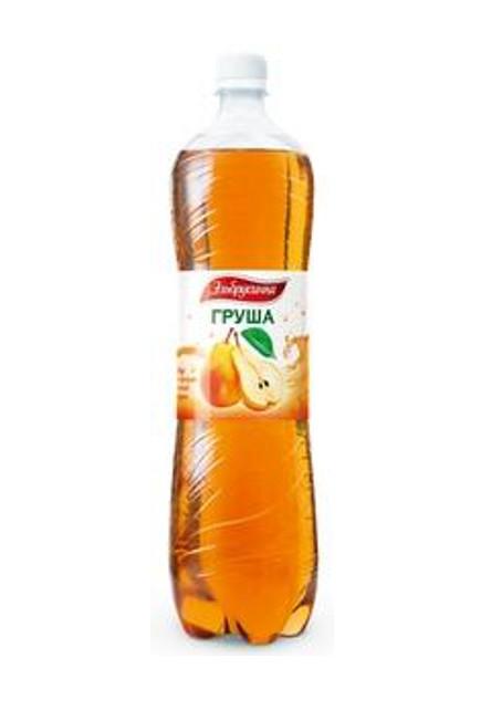 """Напиток """"Груша"""" газ. 1,5 л.(в упк. 6 шт)"""