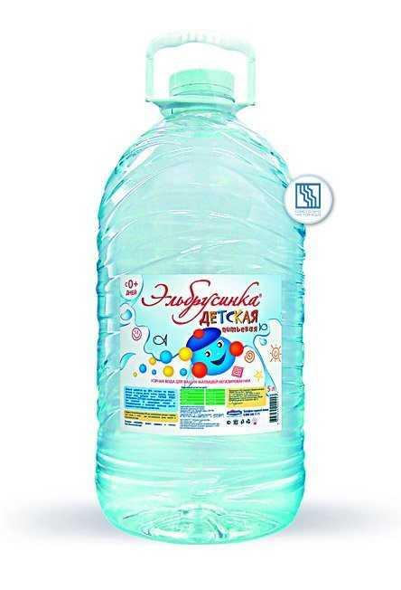 Питьевая вода Эльбрусинка ДЕТСКАЯ 5л