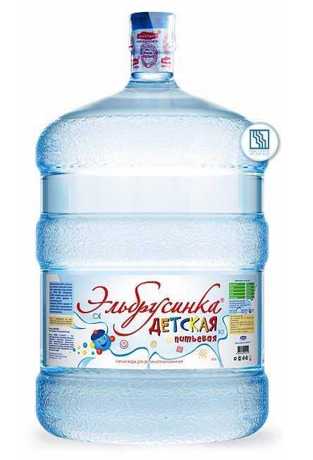 Питьевая вода Эльбрусинка ДЕТСКАЯ 19л