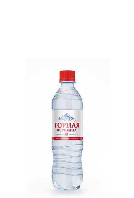 Минеральная питьевая столовая вода ГАЗИРОВАННАЯ 0,5л