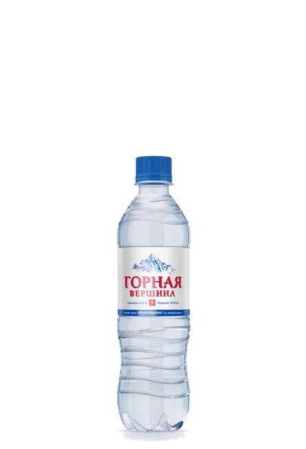 Минеральная питьевая столовая вода НЕГАЗИРОВАННАЯ 0,5л