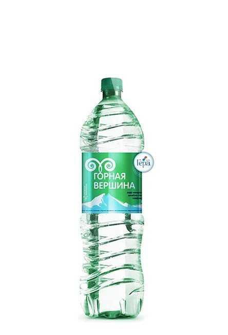 Минеральная питьевая лечебно-столовая вода ГАЗИРОВАННАЯ 1,5л