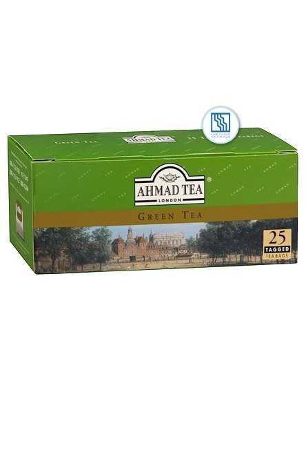 Чай Ахмад зеленый 25*2г