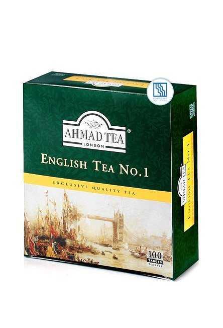 Чай Ахмад черный 100*2г English Tea № 1