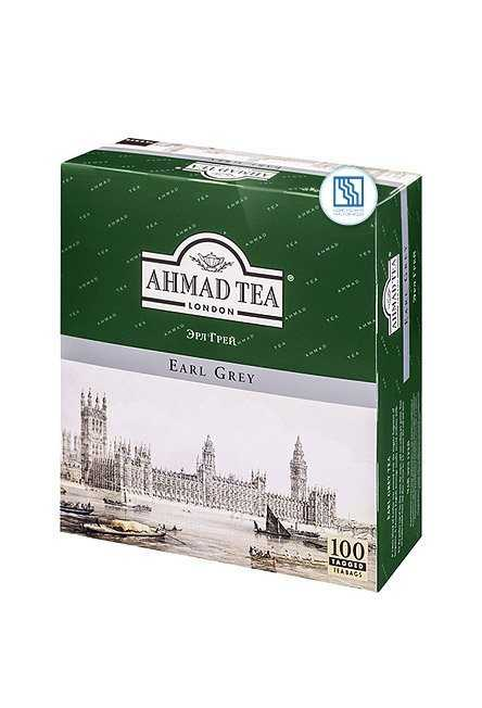 Чай Ахмад черный с бергамотом 100*2г