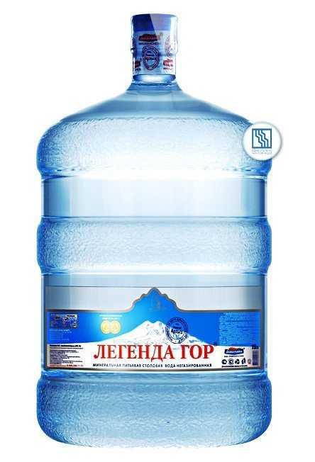 """Вода минеральная питьевая столовая """"Легенда гор"""" 19л"""