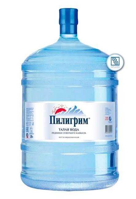 Вода минеральная питьевая столовая «Пилигрим» 19л